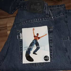 NWT Vintage 90's Silver Tab Men's Levi's Jeans